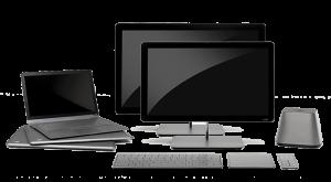 desktop and lap