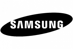 samsung logo black sq